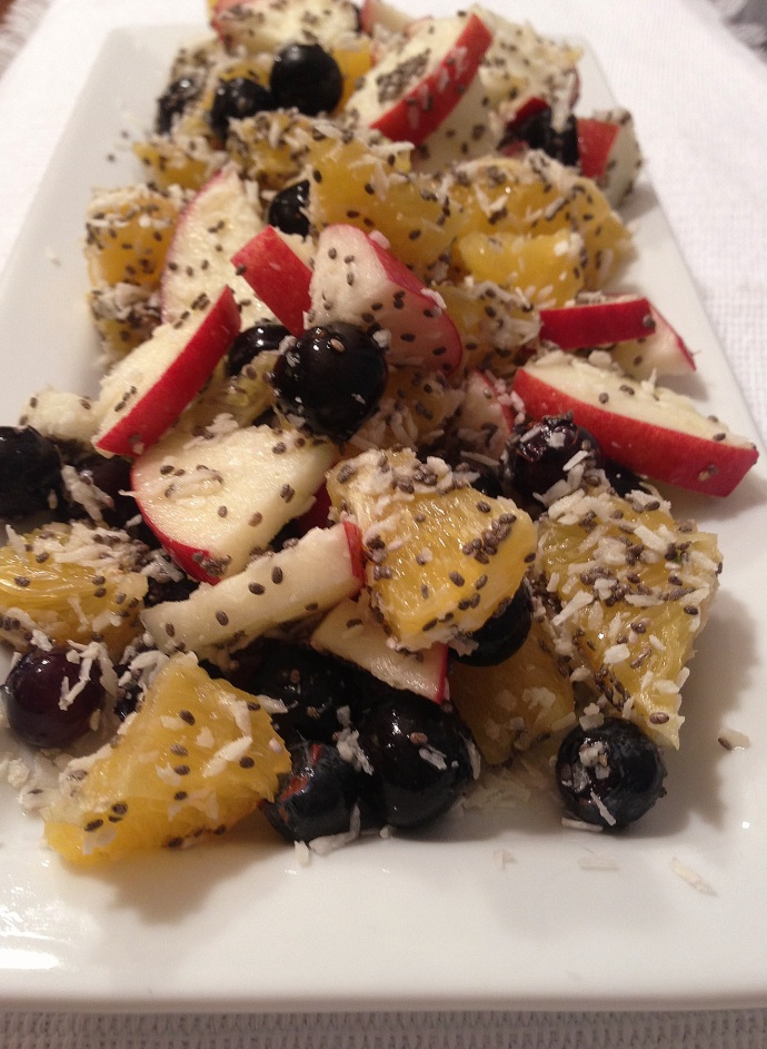 Chia Fruit Salad