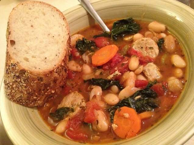 White Bean and Kale Stew